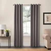 SolarShield® Oakwood 63-Inch Grommet Top Room Darkening Window Curtain Panel in Grey