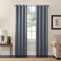SolarShield® Oakwood 85-Inch Grommet Top Room Darkening Window Curtain Panel in Mineral