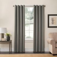 SolarShield® Oakwood 108-Inch Grommet Top Room Darkening Window Curtain Panel in Sage