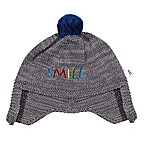 ED Ellen DeGeneres Size 6-12M  Smile  Embroidered Hat in Grey