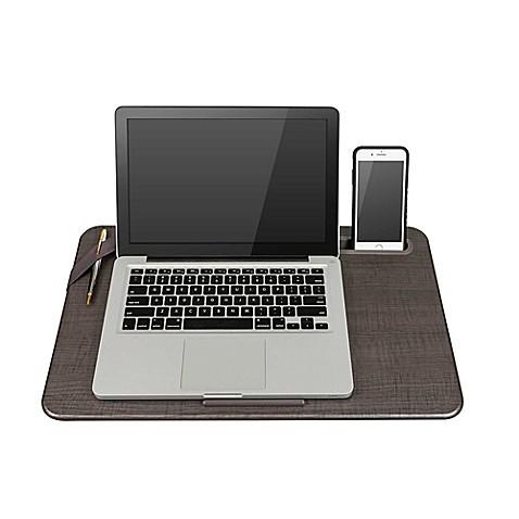 Lapgear 174 Large Deluxe Elevation Lap Desk In Linen Gray