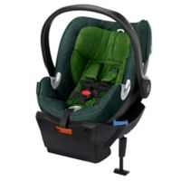 Cybex Platinum Aton Q Plus Infant Car Seat in Green Hawaiian