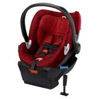 Cybex Platinum Aton Q Plus Infant Car Seat in Hot & Spicy