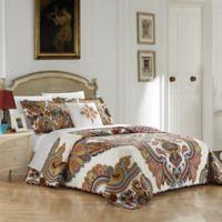 Chic Home Mahal 4-Piece Reversible Queen Quilt Set in Beige