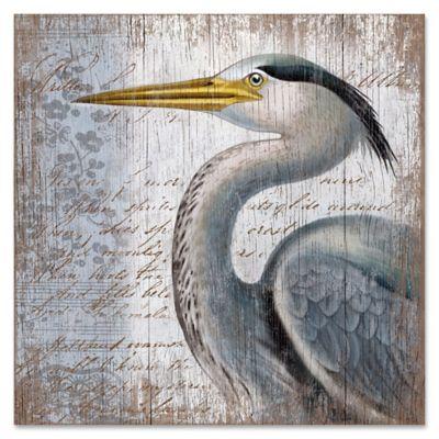 blue heron   wood wall art buy heron wall art from bed bath  u0026 beyond  rh   bedbathandbeyond