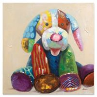 "Children's ""Patches Puppy"" Canvas Wall Art"