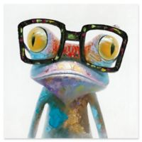Hipster Froggy 20-Inch x 20-Inch Wall Art