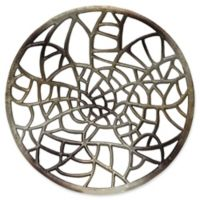 Moe's Home Collection 36.5-Inch x 36.5-Inch Aluminum Metal Art in Silver