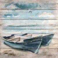 Plank Boat Wall Art