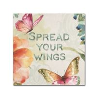 Lisa Audit Colorful Breeze II 18-Inch Square Canvas Wall Art