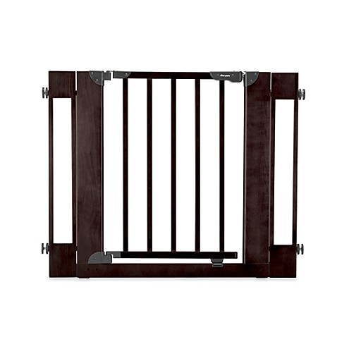The First Years Tall Wide Metal Gate Com
