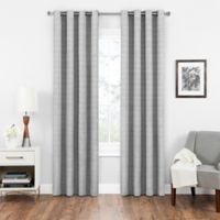 SolarShield® Vardan 108-Inch Grommet Top Room Darkening Window Curtain Panel in Grey