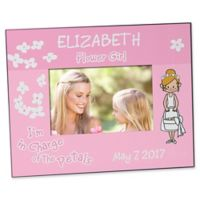 Our Flower Girl 4-Inch x 6-Inch Character Picture Frame
