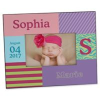 Trendy Girl Personalized Picture Frame