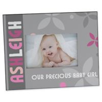 Trendy Baby Girl 4-Inch x 6-Inch Picture Frame
