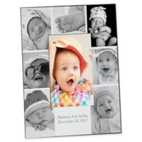 Photo Collage 4-Inch x 6-Inch Vertical Baby Picture Frame