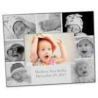 Photo Collage 4-Inch x 6-Inch Horizontal Baby Picture Frame