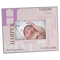 All About Baby For Her 4-Inch x 6-Inch Picture Frame