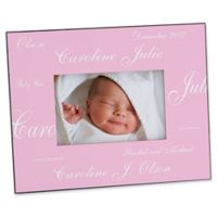 New Arrival Baby 4-Inch x 6-Inch Solid Picture Frame