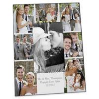 Photo Collage 4-Inch x 6-Inch Vertical Wedding Picture Frame