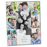 Printed Photo Collage Family 4-Inch x 6-Inch Vertical Picture Frame