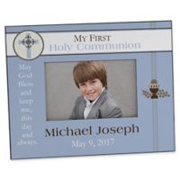 A Boy's First Communion 4-Inch x 6-Inch Picture Frame