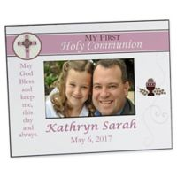 A Girl's First Communion 4-Inch x 6-Inch Picture Frame