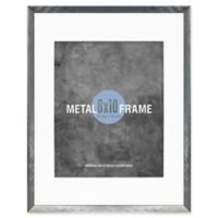 Gallery 8-Inch x 10-Inch Picture Frame in Brushed Metal