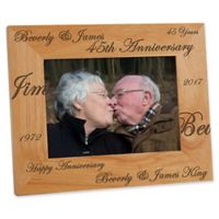 Forever & Always 5-Inch x 7-Inch Anniversary Frame