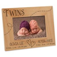 Twin Love 4-Inch x 6-Inch Picture Frame
