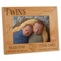 Twin Love 5-Inch x 7-Inch Picture Frame