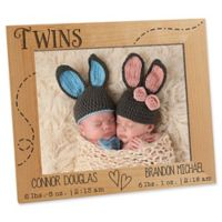Twin Love 8-Inch x 10-Inch Picture Frame