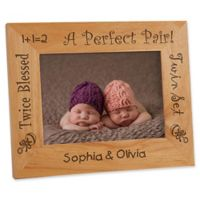 A Perfect Pair 5-Inch x 7-Inch Twin Frame