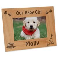 A Puppy Pose 4-Inch x 6-Inch Picture Frame