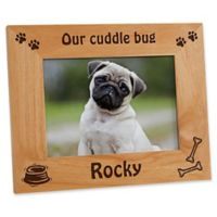 A Puppy Pose 5-Inch x 7-Inch Picture Frame