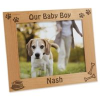 A Puppy Pose 8-Inch x 10-Inch Picture Frame