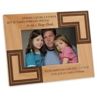 A Special Step-Dad 4-Inch x 6-Inch Picture Frame