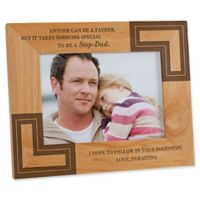 A Special Step-Dad 5-Inch x 7-Inch Picture Frame