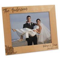 279af7d3ea25 Modern Chic Wedding 8-Inch x 10-Inch Engraved Picture Frame