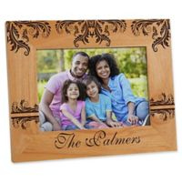 Damask Family 5-Inch x 7-Inch Picture Frame