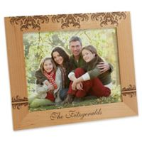 Damask Family 8-Inch x 10-Inch Picture Frame