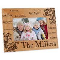 Family Pride 4-Inch x 6-Inch Picture Frame
