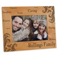 Family Pride 5-Inch x 7-Inch Picture Frame