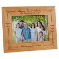Generations of Family 5-Inch x 7-Inch Picture Frame