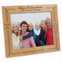 Generations of Family 8-Inch x 10-Inch Picture Frame