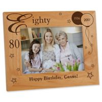 Birthday Memories 5-Inch x 7-Inch Picture Frame