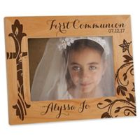 First Communion 5-Inch x 7-Inch Picture Frame