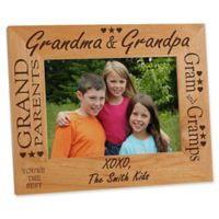 Grandma & Grandpa 5-Inch x 7-Inch Picture Frame