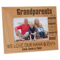 Wonderful Grandparents 4-Inch x 6-Inch Picture Frame