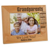 Wonderful Grandparents 5-Inch x 7-Inch Picture Frame